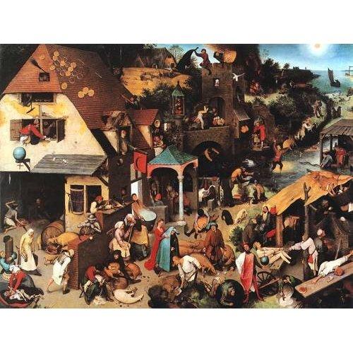 Quadro -The Netherlandish Proverbs-