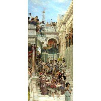 pinturas de retratos - Quadro -Primavera- - Alma-Tadema, Lawrence