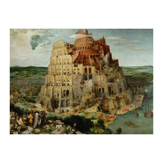religious paintings - Picture -La Tour de Babel-