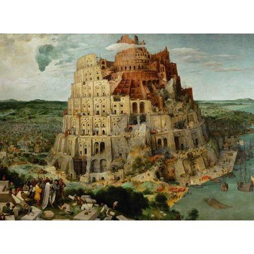Cuadro -La Tour de Babel-