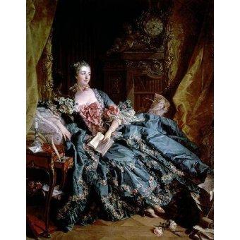- Quadro -Madame de Pompadour- - Boucher, François