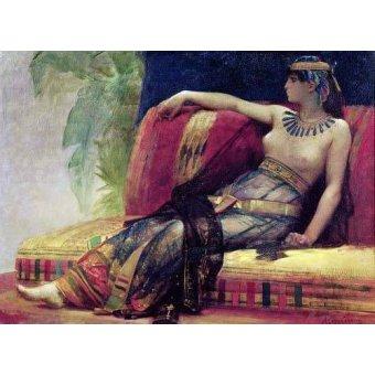 - Quadro -Cleopatra (69-30 BC)- - Cabanel, Alexander