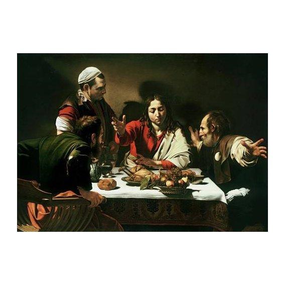 imagens religiosas - Quadro -The Supper at Emmaus, 1601-