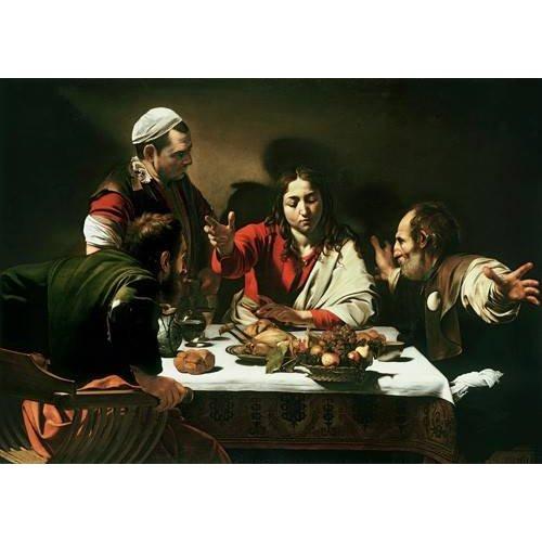 Quadro -The Supper at Emmaus, 1601-