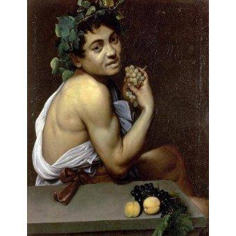 - Quadro -The Sick Bacchus, 1591 (oil on canvas).- - Caravaggio, Michelangelo M.