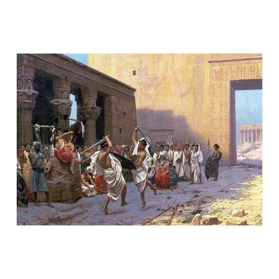 pinturas do retrato - Quadro -The Sword Dance (La Phyrique).-