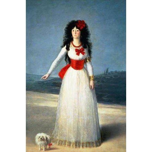 Quadro -La Duquesa de Alba, 1795-