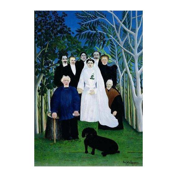 pinturas do retrato - Quadro -The Wedding Party, 1904-05-