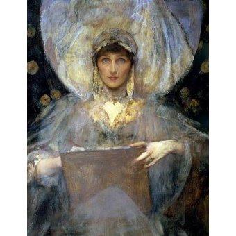- Quadro -Violet, Duchess of Rutland- - Shanon, Sir James