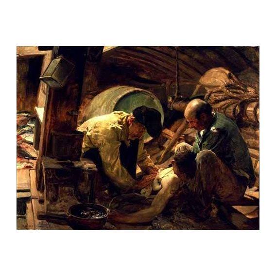 pinturas do retrato - Quadro -Y aun dicen que el pescado es caro-