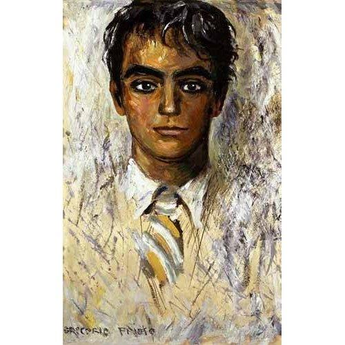 Quadro -Retrato de Federico Garcia Lorca-
