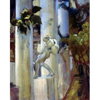 - Quadro -Jardin de la casa del artista (III)- - Sorolla, Joaquin