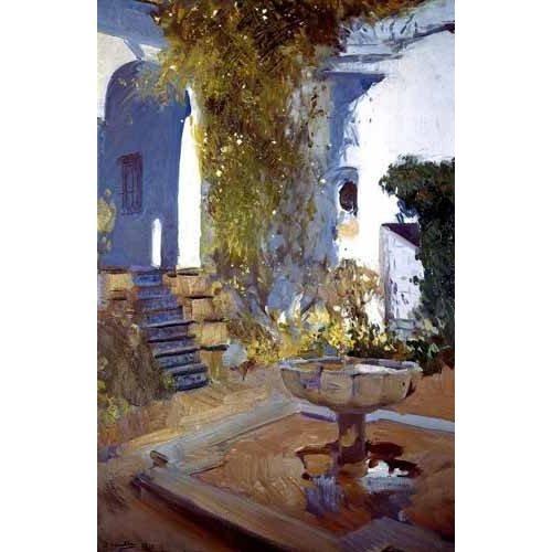 Quadro -Jardin de la casa del artista (V)-