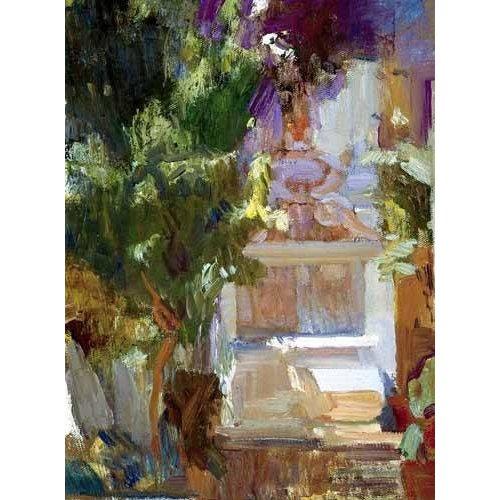 Quadro -Jardin de la casa del artista (VII)-