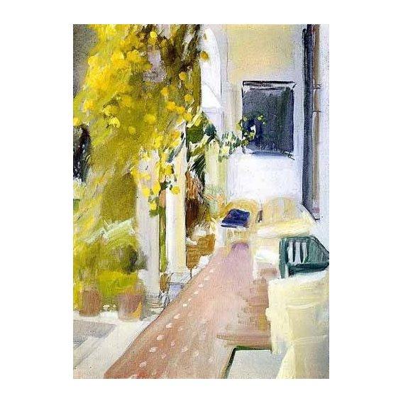 pinturas de paisagens - Quadro -La Alhambra de Granada (II)-