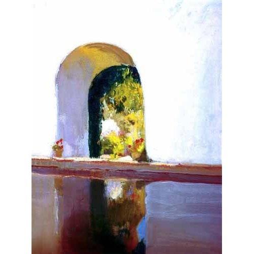 pinturas de paisagens - Quadro -Vista de El Roncal-