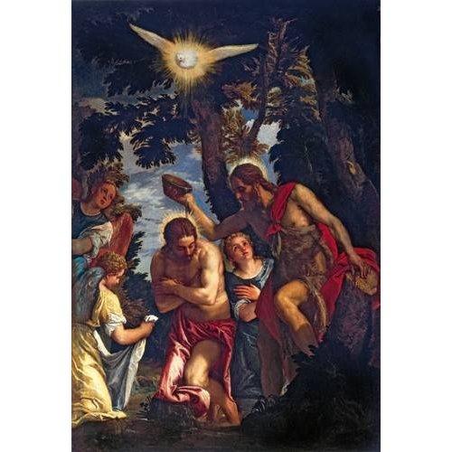 Quadro -El Bautismo De Cristo-