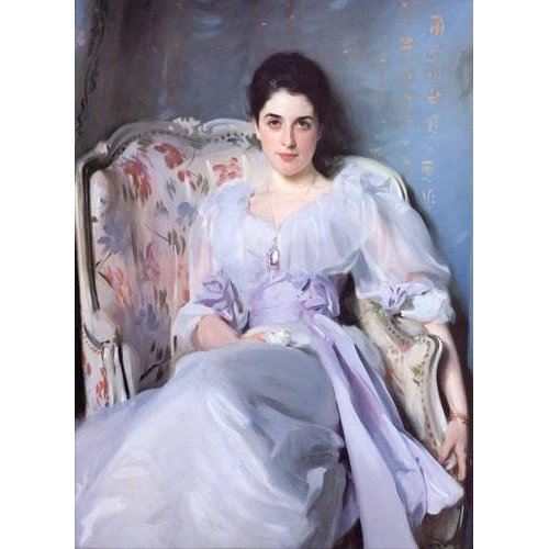 pinturas do retrato - Quadro -Lady Agnew-