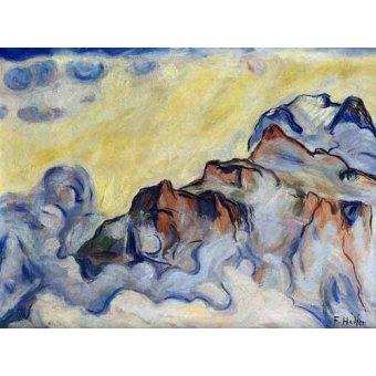 - Quadro -Landscape- - Hodler, Ferdinand