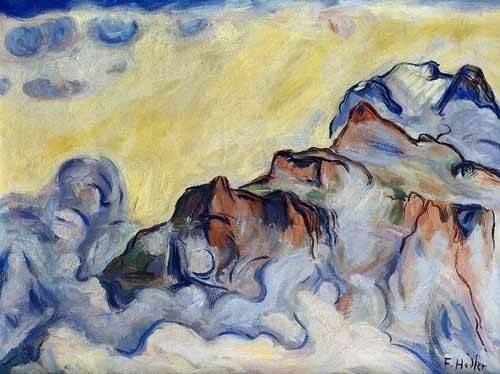 quadros-abstratos - Quadro -Landscape- - Hodler, Ferdinand