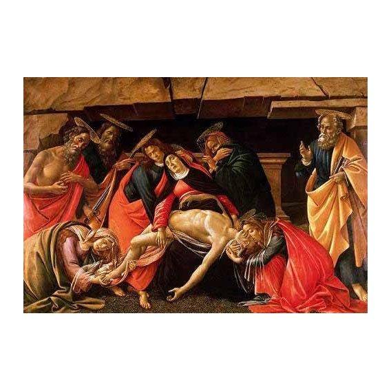 religious paintings - Picture -Lamentación de Cristo-