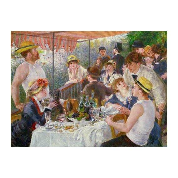naturezas mortas - Quadro -El almuerzo de los remeros, 1881-