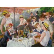 Quadro -Almoço do partido do barco, 1881-