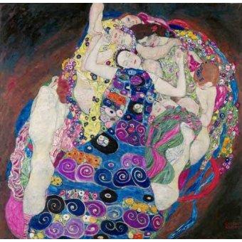 - Quadro -Die Jungfrau- o -La Virgen- - Klimt, Gustav