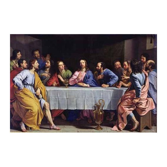 religious paintings - Picture -La Ultima Cena-
