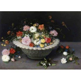 naturezas mortas - Quadro -Florero- - Bruegel