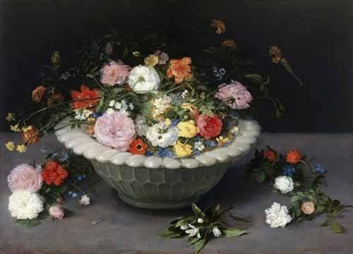 cuadros de bodegones - Cuadro -Florero- - Bruegel