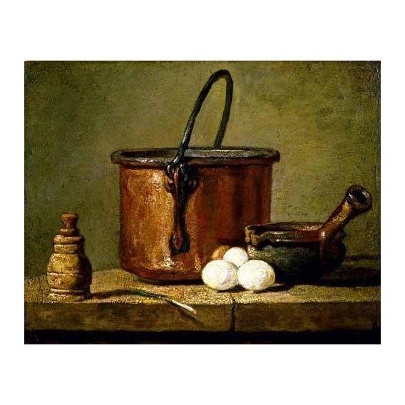 Still life paintings - Picture -Utensilios de cocina-