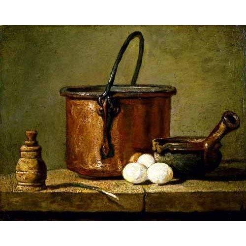 naturezas mortas - Quadro -Utensilios de cocina-