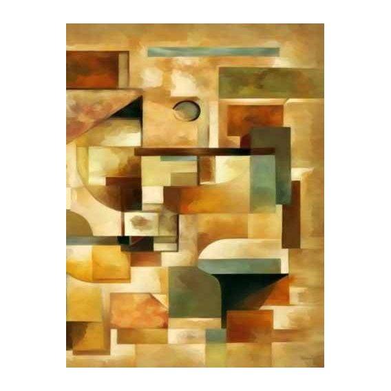 pinturas abstratas - Quadro -Moderno CM1279b-