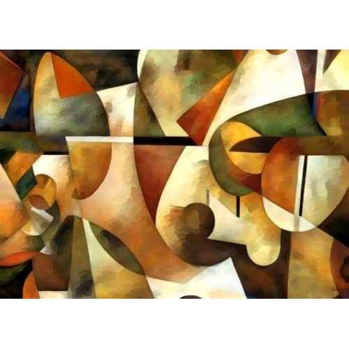 pinturas abstratas - Quadro -Moderno CM1284-