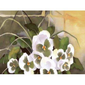 quadros de flores - Quadro -Moderno CM1330- - Medeiros, Celito