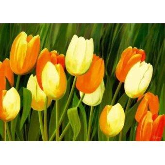 quadros de flores - Quadro -Moderno CM1357- - Medeiros, Celito