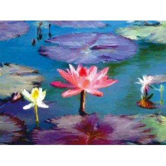 quadros de flores - Quadro -Moderno CM1369- - Medeiros, Celito