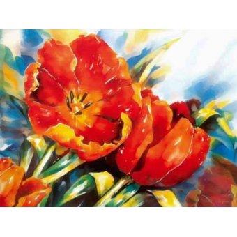 quadros de flores - Quadro -Moderno CM1373- - Medeiros, Celito
