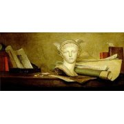 Cuadro -Still Life with Attributes of the Arts-
