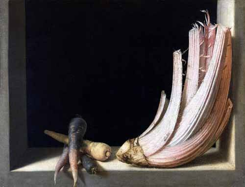 Still life paintings - Picture -Bodegón del cardo- - Cotan, Juan Sanchez