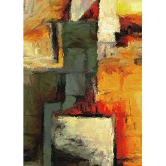 Quadros abstratos - Quadro -Moderno CM1719- - Medeiros, Celito