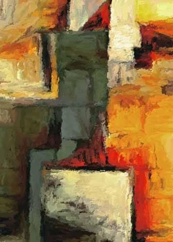 quadros-abstratos - Quadro -Moderno CM1719- - Medeiros, Celito