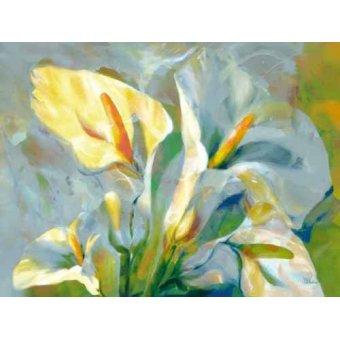 quadros de flores - Quadro -Moderno CM1918- - Medeiros, Celito