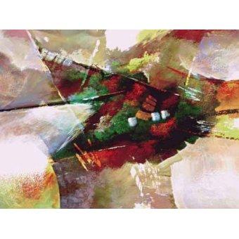 Quadros abstratos - Quadro -Moderno CM2019- - Medeiros, Celito