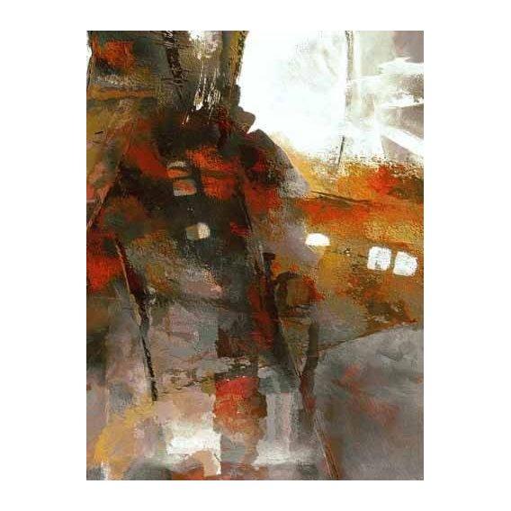 pinturas abstratas - Quadro -Moderno CM2053-