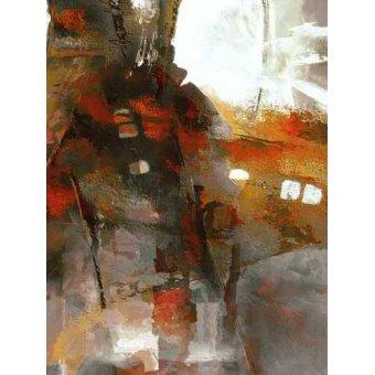 Quadros abstratos - Quadro -Moderno CM2053- - Medeiros, Celito
