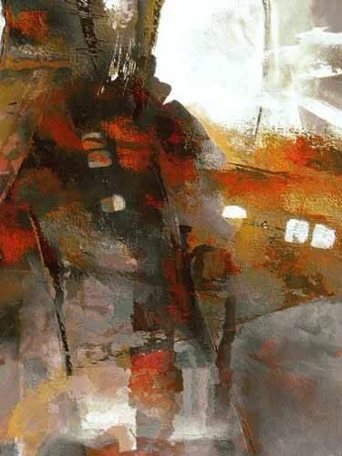 quadros-abstratos - Quadro -Moderno CM2053- - Medeiros, Celito