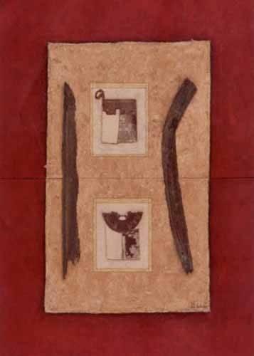 quadros-etnicos-e-orientais - Quadro -Moderno CM2272- - Medeiros, Celito