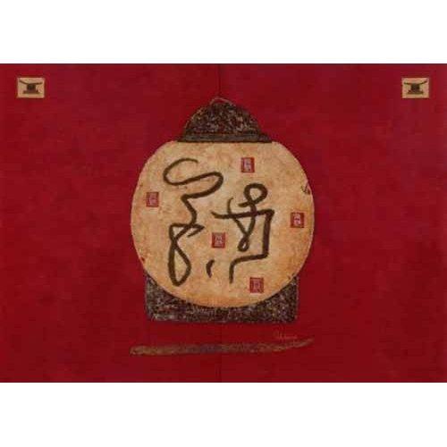 cuadros etnicos y oriente - Cuadro -Moderno CM2274-